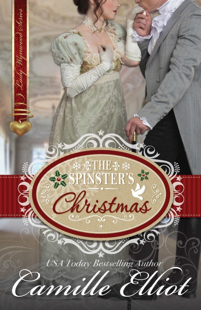 Image result for the spinster's christmas camille elliott